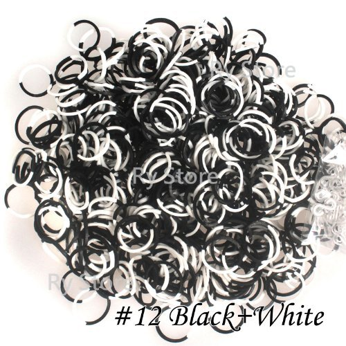 White DIY Loom Refill Rubber Bands - 1