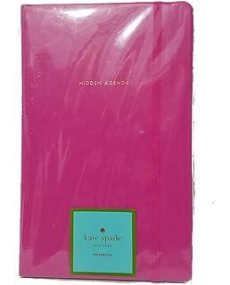 Amazon.com: kate spade new york Leatherette Notebook - Blue ...