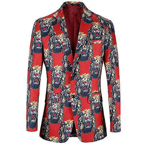 M/&S/&W Mens Slim Fit Suits One Button Solid Blazer Jacket Coat
