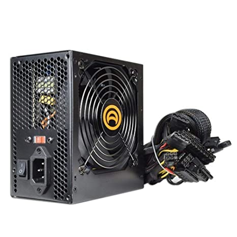 Amazon com: Bd&a Power AK 680W 204 Pin ATX PSU w SATA and