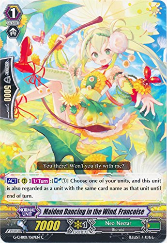 - Maiden Dancing in the Wind, Francoise - G-CHB01/069EN - C - G Character Booster 1: TRY3 NEXT