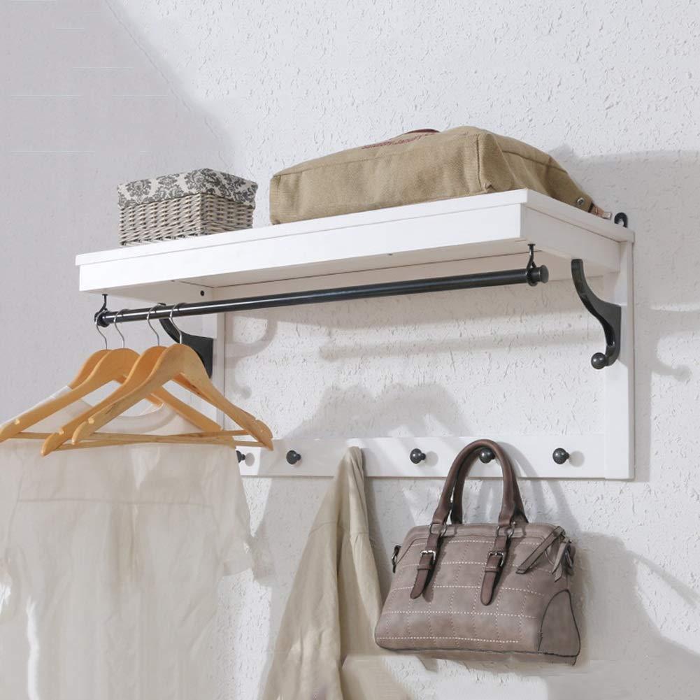 Amazon.com: ZEMIN - Perchero de pared con 8 ganchos para ...
