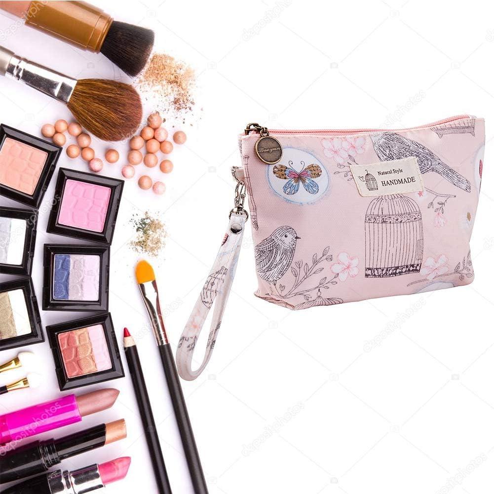 Picaru Trousse de maquillage portable pour femme 20 /× 6 /× 12 cm