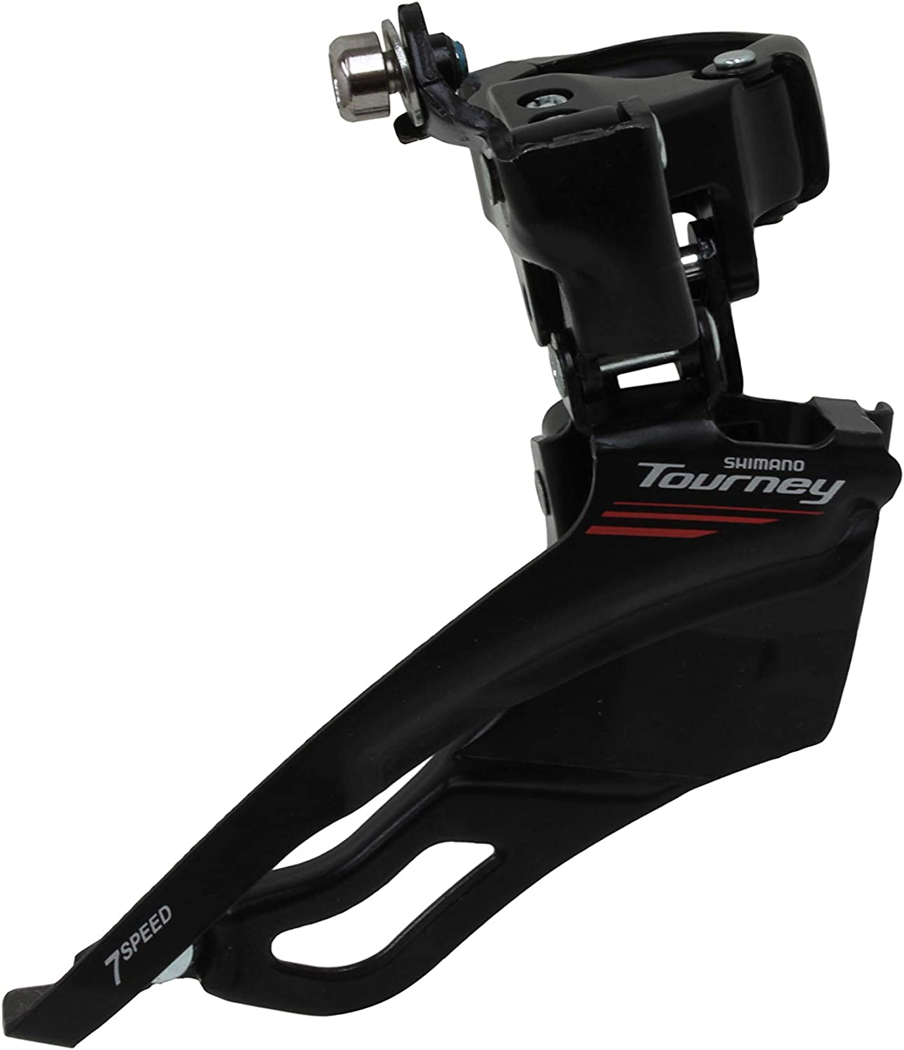 NEW Shimano Tourney Front Derailleur 6//7Speed Triple 31.8mm Clamp On Down Swing