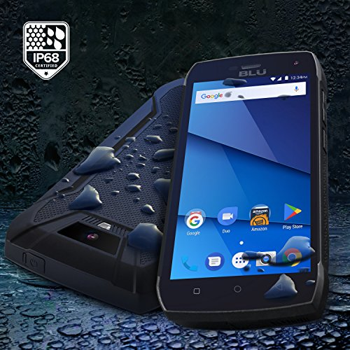BLU Tank Xtreme Pro Factory Unlocked Phone - 5Inch Screen - 16GB - Black (U.S. Warranty)
