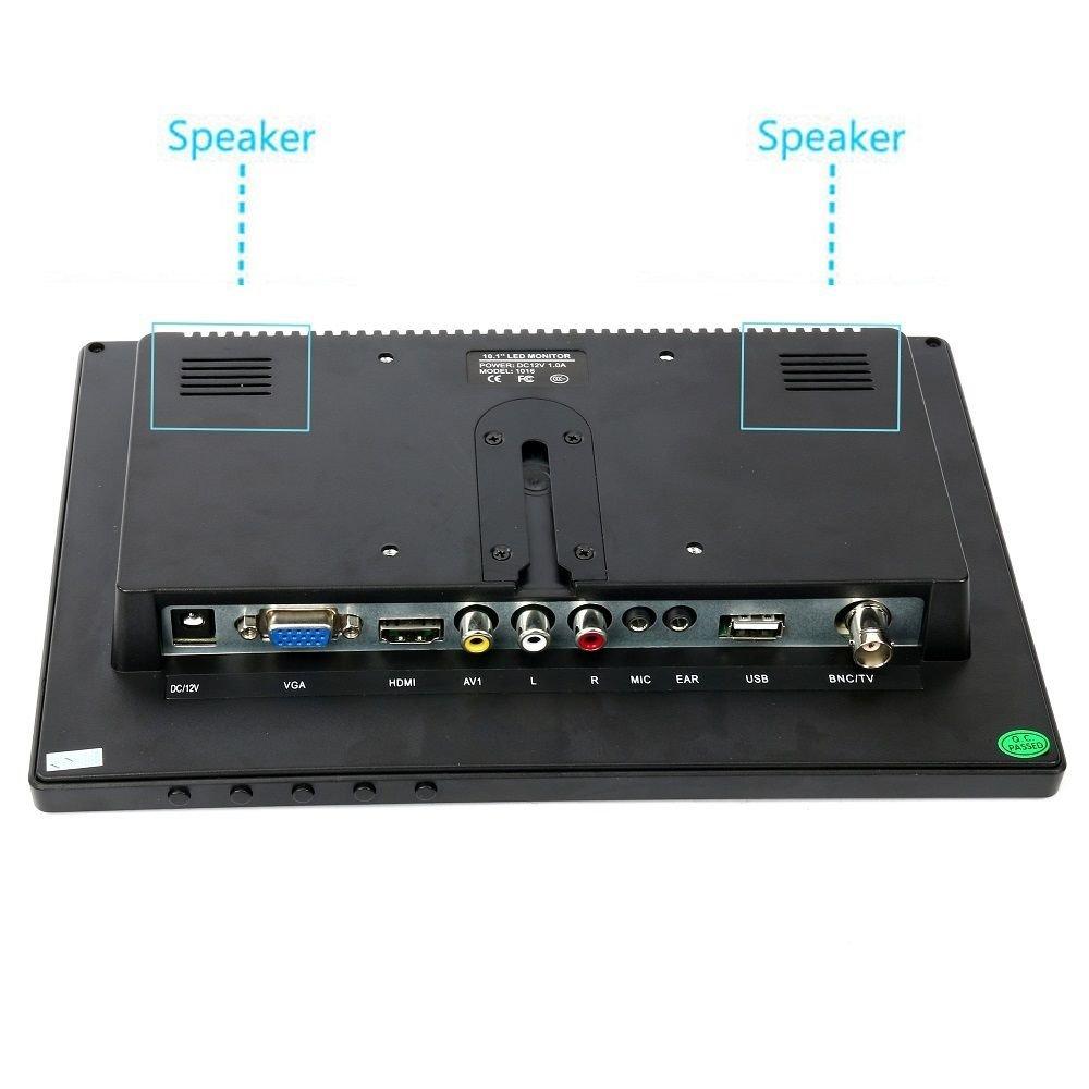 10.1'' HD USB Multi-Media Player IPS LCD 1280x800 HDMI AV BNC VGA TFT LED Monitor by YaeCCC (Image #8)