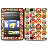 "Kindle Fire HD (fits 7"" only) Skin Kit/Decal - Owls Family - Valentina Ramos"