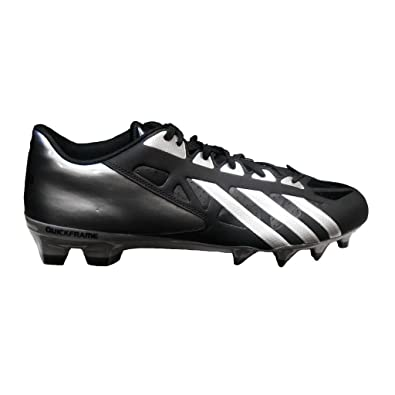 official photos ab478 c855e adidas FilthyQuick Mens Football Cleats (10, BlackPlatinumTitanium)