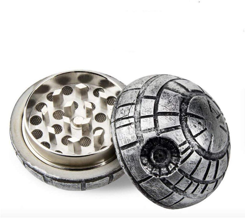 Star Wars Death Star Magnetic Tobacco Herb Alloy Crusher 3 Parts Grinder Zinc