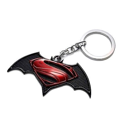 Última Collecton Negro-Rojo Batman vs Superman Llavero por ...