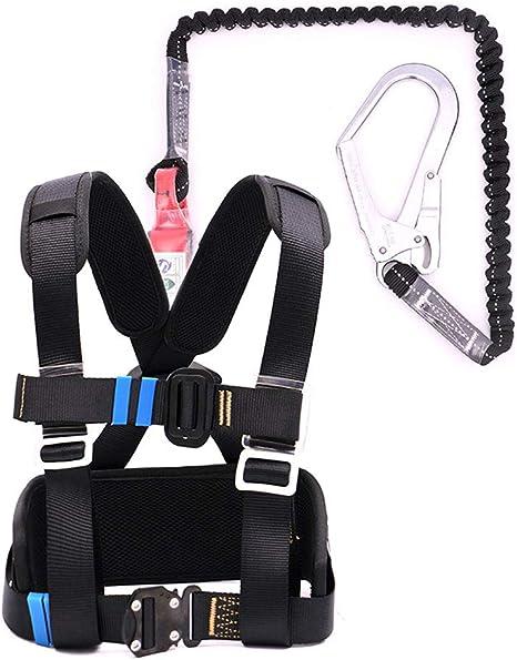 Juego de arnés de Escalada, Cinturón de Seguridad de Cuerda ...