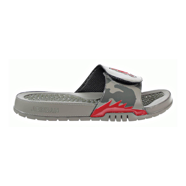 d4ff2375d08e Jordan Hydro 5 Retro Men s Slides Dark Stucco University Red 555501-051