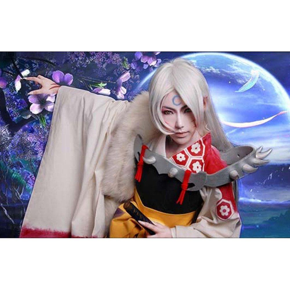 Amazon.com: Shen Fancy Inuyasha sesshoumaru Straight largo ...