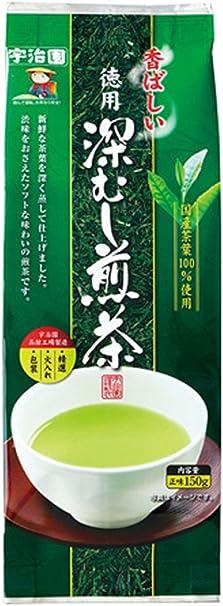 宇治園 香ばしい徳用煎茶 150g×5個