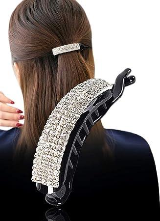 Elegant Twist Hair Clip Clamp Ponytail Grip Headwear Barrette Hair Accessory