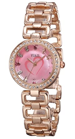 Amazon.com: Womens Chain Bracelet Gold Bling Watches: Watches
