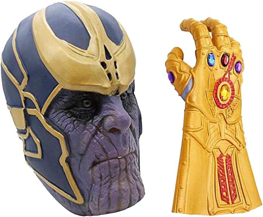 MIMINUO Máscara de Cosplay de Avengers Infinity War con Accesorios ...