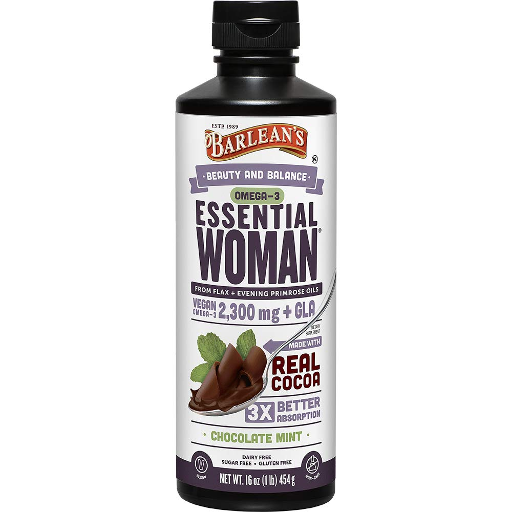 Barlean's Seriously Delicious Essential Woman, Chocolate Mint, 16-oz