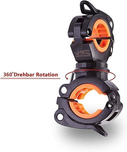 Kunststoff gummi halterung klemme clip für fahrrad led licht lampe taschenlampe