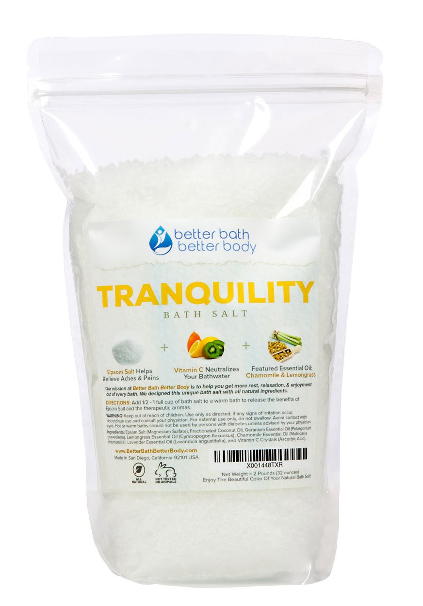 Tranquility Bath Salt 2 Pounds