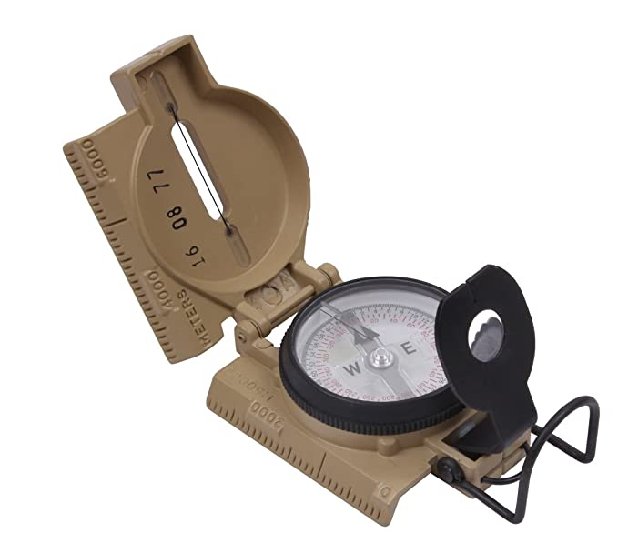 Amazon.com: Cammenga G.I. Phosphorescent Militar Lensatic ...
