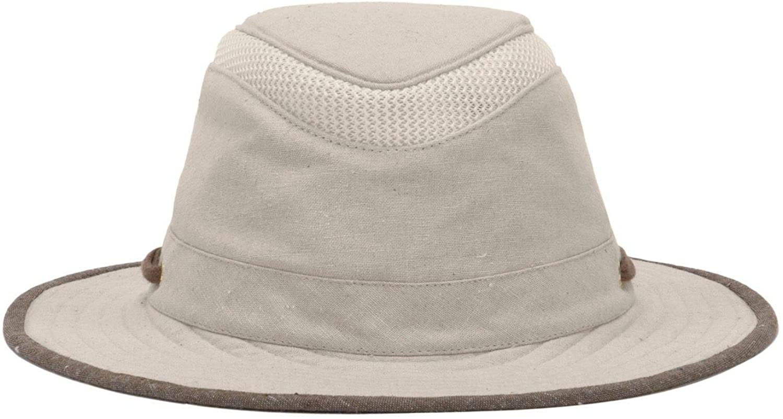 Chapeau Pliable En Coton Bio Et Chanvre TMH55 Mash Up sable TILLEY