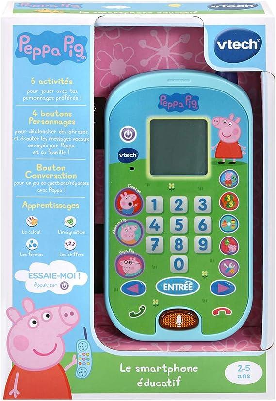 VTech 5 Ans Peppa Pig Version FR Livre Enfant // 18 Mois Mon Livre-jeu /Éducatif