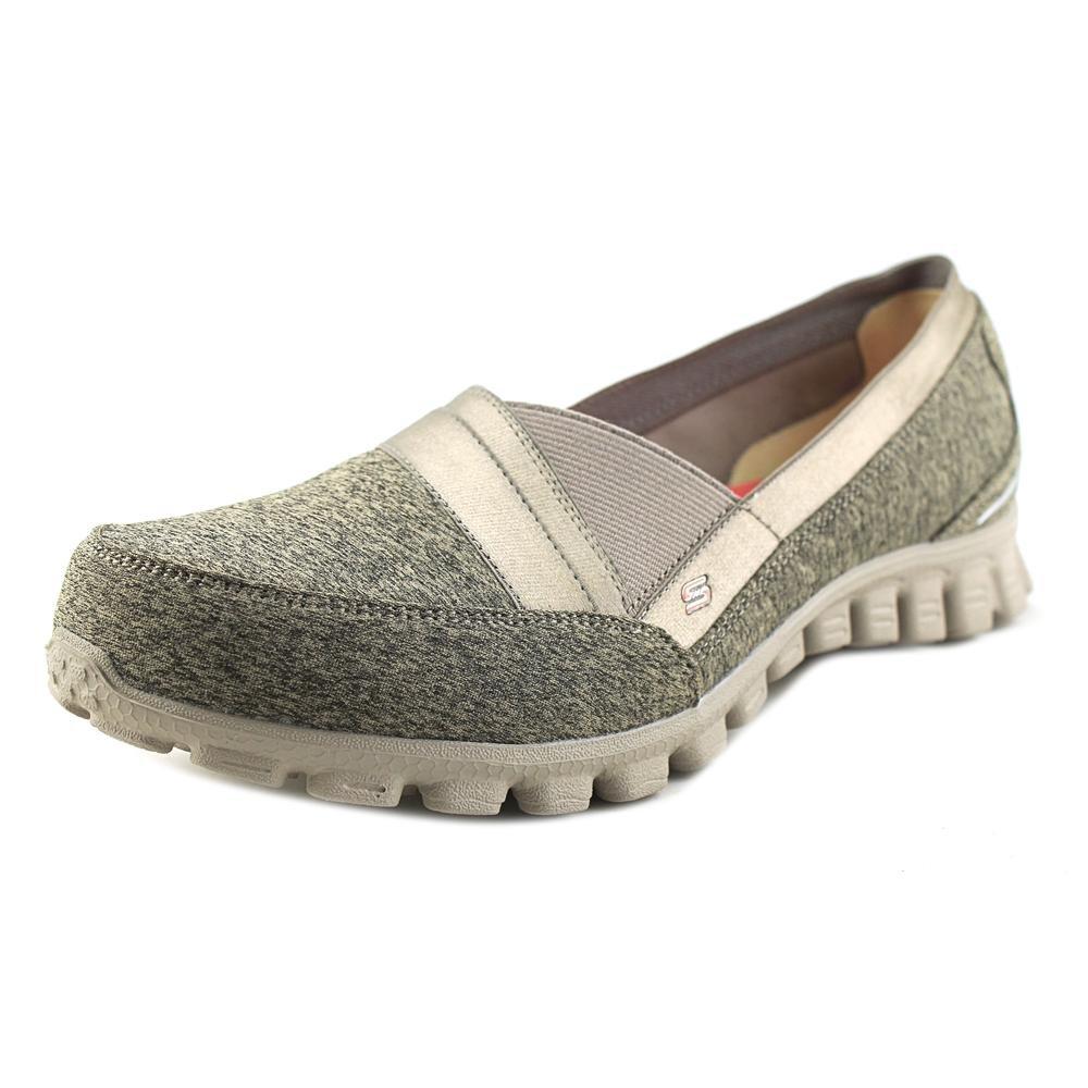 1d64dec836aa Galleon - Skechers EZ Flex 2 Fascination Womens Slip On Sneakers Taupe 8.5