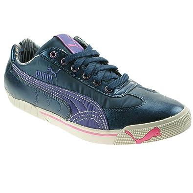 PUMA Sneaker blau/lila 38 wie NEU