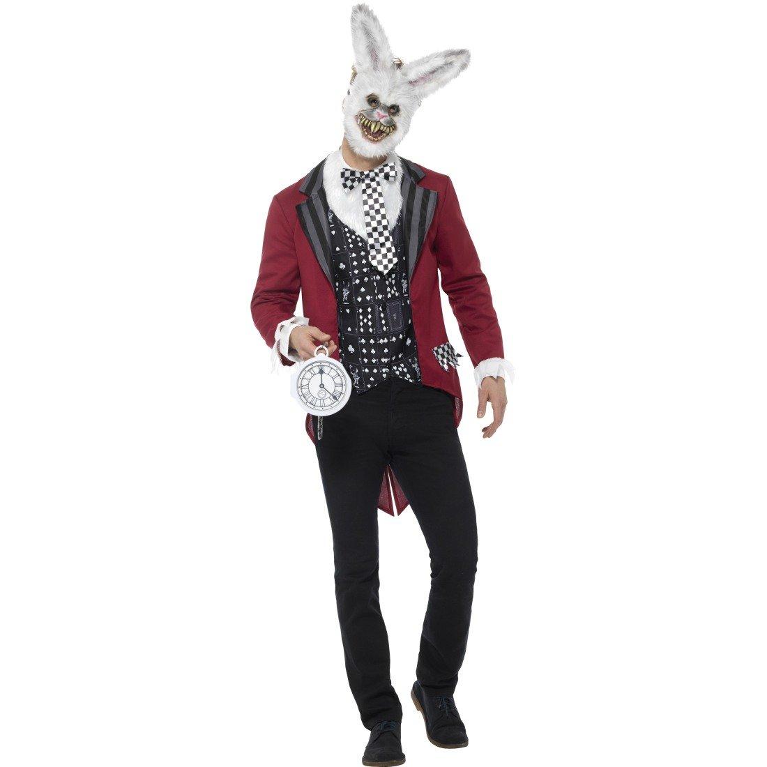 Entrega rápida y envío gratis en todos los pedidos. Traje Hombre Hombre Hombre Liebre - M (ES 48/50)   Disfraz Conejo Blanco   Atuendo Terrorífico Alice en el país de Las Maravillas   Disfraz Halloween Cuento  solo para ti