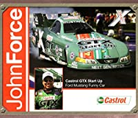 JOHN FORCE NHRA HERO CARD FORD MUSTANG FUNNY CAR 2005 VF