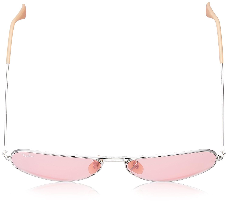 Ray-Ban 9065V7, Gafas de sol para Hombre, Silver 57: Amazon.es: Ropa y accesorios