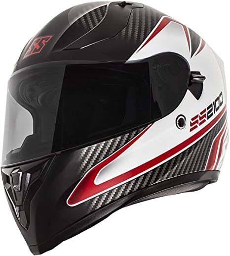 Satin White Speed /& Strength SS2100 Helmet Solid Speed Satin Large