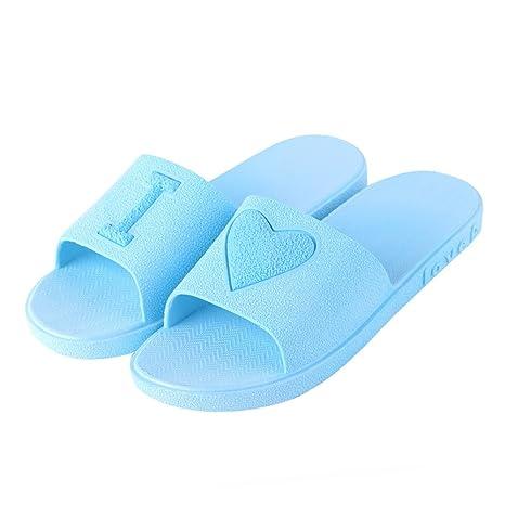 Eizur lovers Summer antiscivolo doccia pantofole unisex piatto bagno casa  ciabatte da piscina e suola schiume e384022f702
