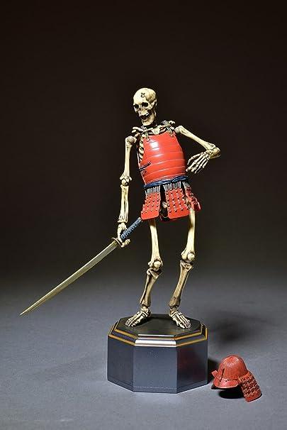 Takeya Jizai Okimono Gaikotsu Musha Skelton Samurai KT-009 Kaiyodo Figure Japan