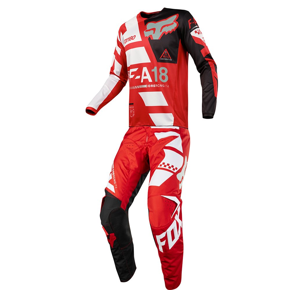 Fox Racing 180 Sayak Red Jersey/ Pant Youth Combo - Size Y-LARGE/ 26W