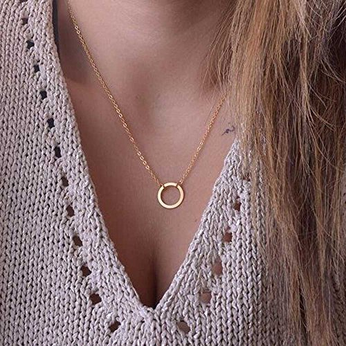 Unicra Women Pendant Vintage Alloy Necklace Choker Chains Charm for Wedding and Party from Unicra