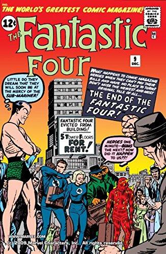 Fantastic Four (1961-1998) #9 (Fantastic Four ()