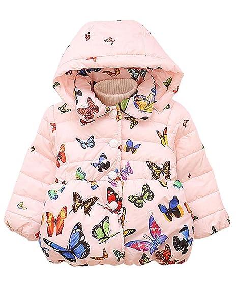 Amazon.com: Ancia - Chaqueta de invierno para niñas: Clothing