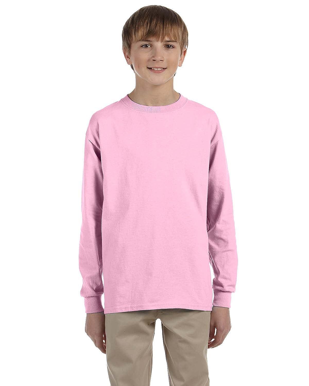 Ultra Cotton  Long-Sleeve T-Shirt 6 Pack G240B All Sizes Gildan Boys 6.1 oz