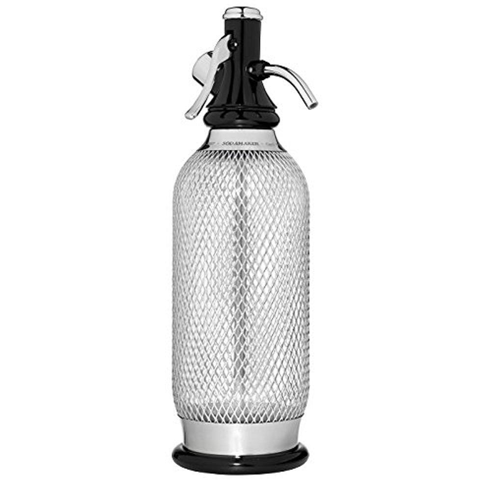 iSi Sodamaker Classic Mesh 1 Quart Soda Siphon Bottle