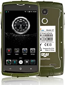 Smartphone Libre 4G,HOMTOM ZOJI Z7 IP68 Impermeable Teléfonos ...