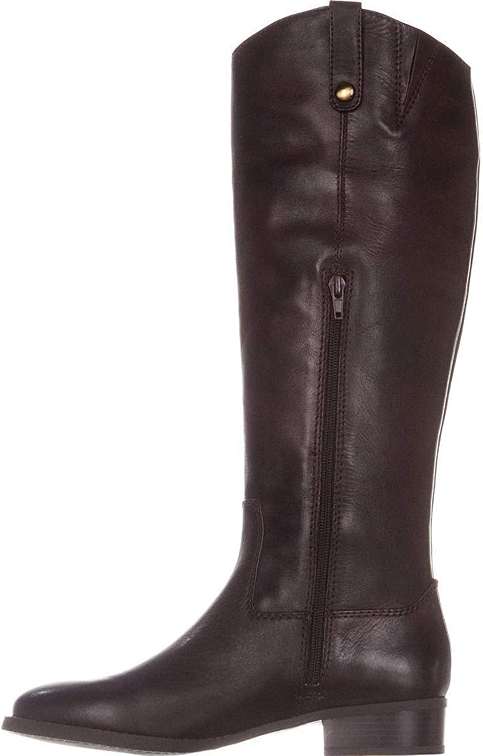 INC International Concepts Womens Fawne Leather Round Toe Chocolate Size 9.5
