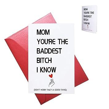 amazon com funny birthday greeting card for mom naughty cards