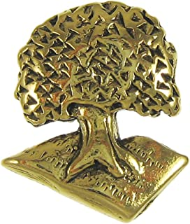 product image for Jim Clift Design Tree of Knowledge Gold Lapel Pin