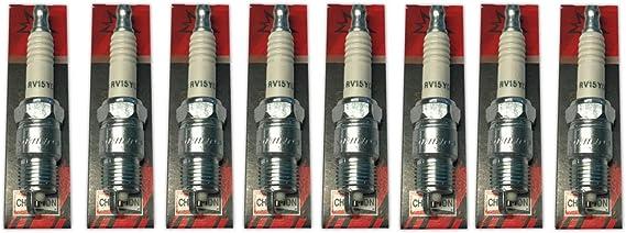 Juego de 8 bujías V8 GM Champion RV15YC4 Spark Plug: Amazon.es: Deportes y aire libre