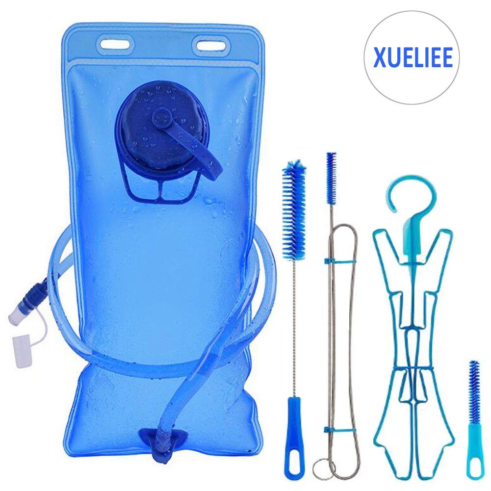 水和パック膀胱クリーニングキット、水2l Reservoir、水膀胱、Hydrationバックパック膀胱、FDA承認、無味、BPAフリーTpu素材、クイックリリースチューブとシャットオフバルブ 1  B0746L4R5S