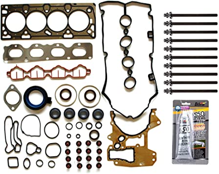 ECCPP Engine Head Gasket Set with Bolts fit 2007 Chevrolet Silverado 2500 HD GMC Sierra 2500 HD Compatible fit for Head Gaskets Kit