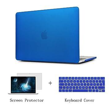 Batianda Carcasa MacBook Pro 13 Pulgada 2016/2017/2018 Ultra Delgado Funda Dura Case con la Cubierta del Teclado Protector de Pantalla para MacBook ...