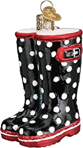 Old World Christmas Rubber Boots Ornament, Multi